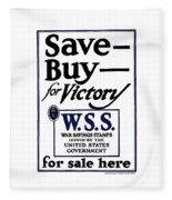 Buy For Victory Fleece Blanket