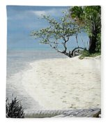 Buye Beach Fleece Blanket