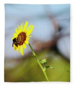 Buzy Bee Fleece Blanket