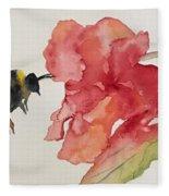 Buzz Bee Fleece Blanket