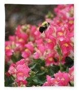 Buzzing Around Fleece Blanket