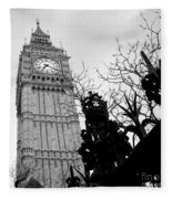 Bw Big Ben London 2 Fleece Blanket