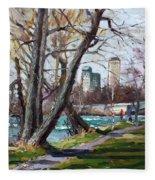 By Niagara River Fleece Blanket