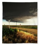 By Road, By Rail, Or By God Fleece Blanket