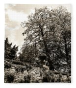 By The Canal Fleece Blanket