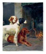 By The Fire Fleece Blanket