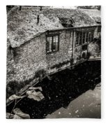 By The Pond Fleece Blanket
