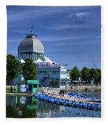 By The Port Montreal Fleece Blanket