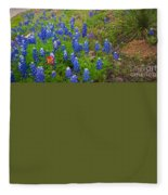 Hill Country Yucca Fleece Blanket