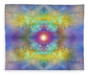 By The Tarnished Light Of The Moon Fleece Blanket