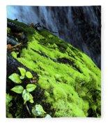 By The Waterfall Fleece Blanket