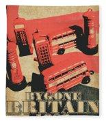 Bygone Britain 1983 Fleece Blanket
