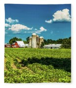 Bygone Days Fleece Blanket
