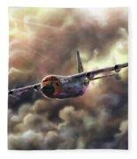 C-130 Hercules Fleece Blanket