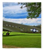 C-47 Special Delivery Fleece Blanket