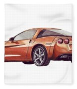 C6 Fleece Blanket