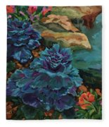 Cabbage Patch Fleece Blanket