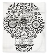 Cabeza De Vaca-cicleta Fleece Blanket