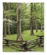 Cabin Fleece Blanket