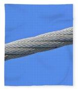 Cable Fleece Blanket