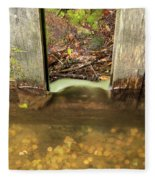 Cable Mill Flume 1 A Fleece Blanket