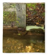 Cable Mill Flume 1 B Fleece Blanket