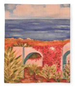 Cabo Garden Fleece Blanket