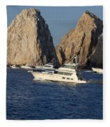 Cabo San Lucas - Sport Fishing Fleece Blanket