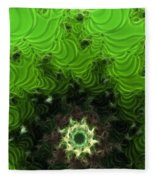 Cactus Abstract Fleece Blanket