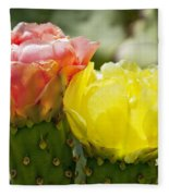 Cactus Bouquet Fleece Blanket