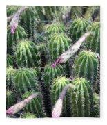 Cactus Drama Fleece Blanket