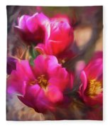 Cactus Flower 07-002 Fleece Blanket