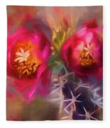 Cactus Flower 07-003 Fleece Blanket