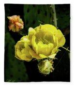 Cactus Flower 07-010 Fleece Blanket