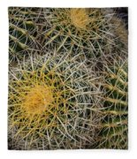 Cactus Hay Fleece Blanket