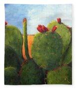 Cactus Pears Fleece Blanket
