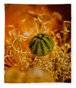 Cactus Pistil Fleece Blanket