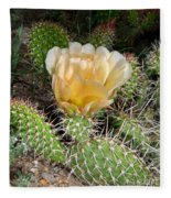 Cactus Rose Fleece Blanket