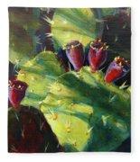 Cactus Shadows Fleece Blanket