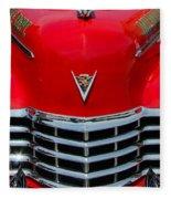 Cadillac Ambulance  Fleece Blanket