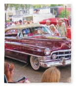 Cadillac Coupe Deville Fleece Blanket