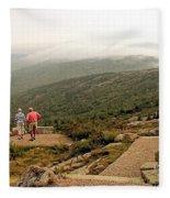 Cadillac Mountain View Fleece Blanket