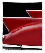 Cadillac Sharp Edged Fins Fleece Blanket