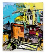 Cadiz Spain 02 Bis Fleece Blanket