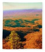 Caesars Head State Park Fleece Blanket