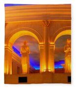 Caesar's Lobby - A C Fleece Blanket