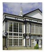 Cafe At The Pavilion Gardens - Buxton Fleece Blanket