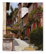 Cafe Bifo Fleece Blanket