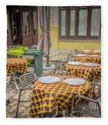 Cafe Fleece Blanket
