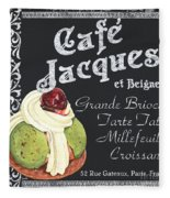 Cafe Jacques Fleece Blanket
